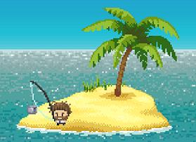 Desert island fishing one handed bliss my dpad for Desert island fishing