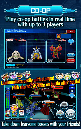 DigimonLinks Co-Op